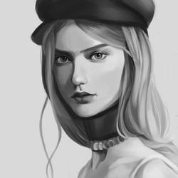 Weekly portrait study 2 by rei-kaa