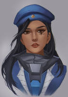 Young Ana by rei-kaa