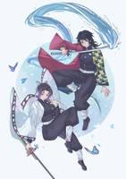 Shinobu x Giyuu - KnY