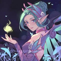[Commission] Sugar Plum Fairy Mercy
