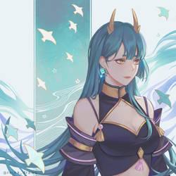 portrait of Jade 2021