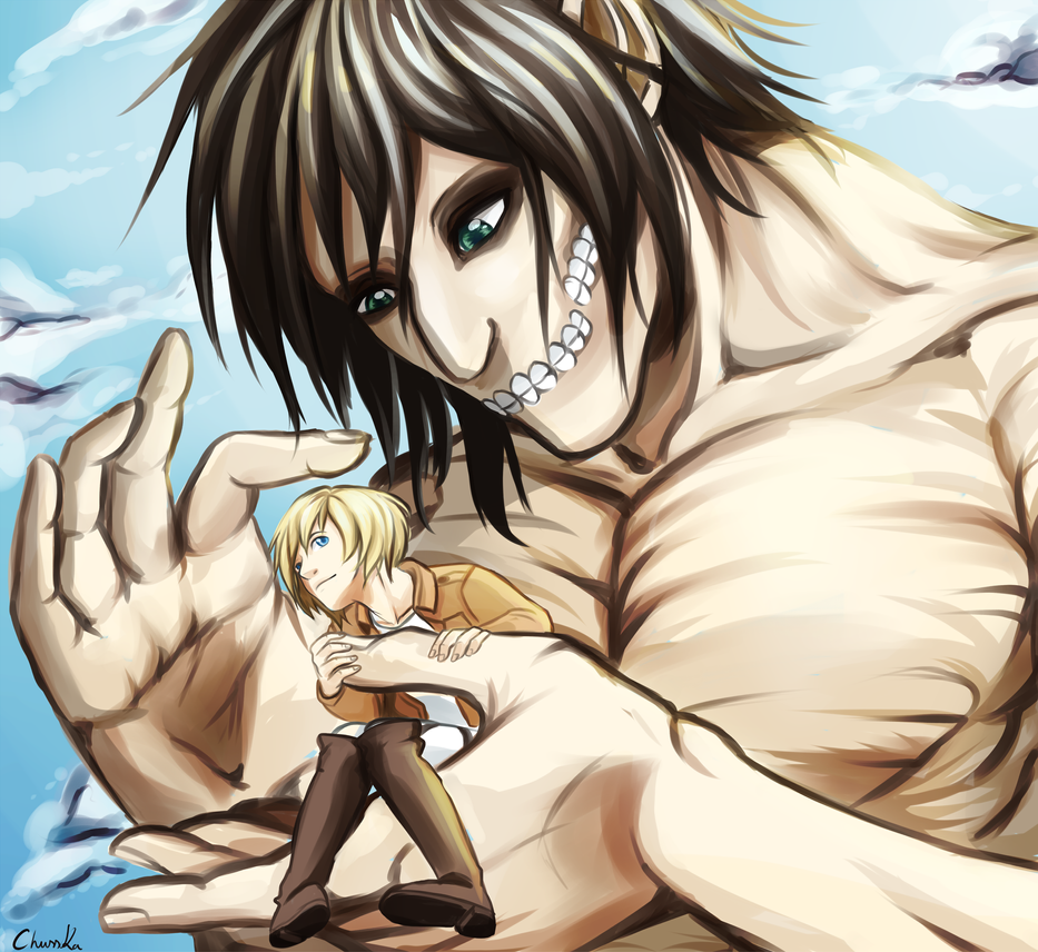 Attack on Titan by ChussKa