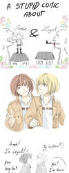 Armin and Legout by ChussKa