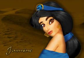 Jasmine Untooned by Blossom-Disneyaholic