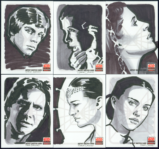 Topps Star Wars Galaxy 5 by Soatney