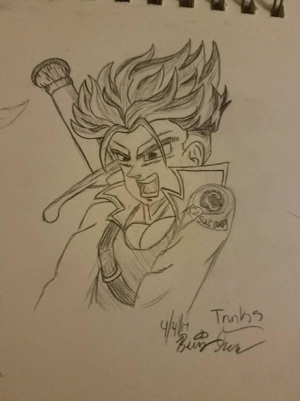 SS Trunks DBZ by Jyotsna6734