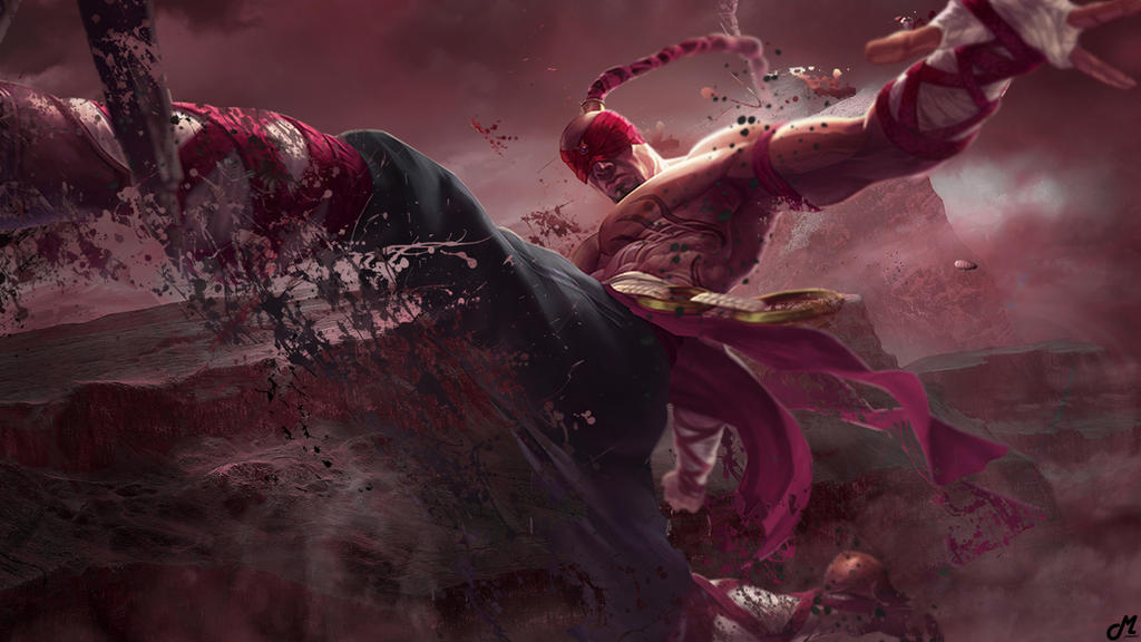 Lee Sin League of Legends Wallpaper HD - by MaxiM by ...