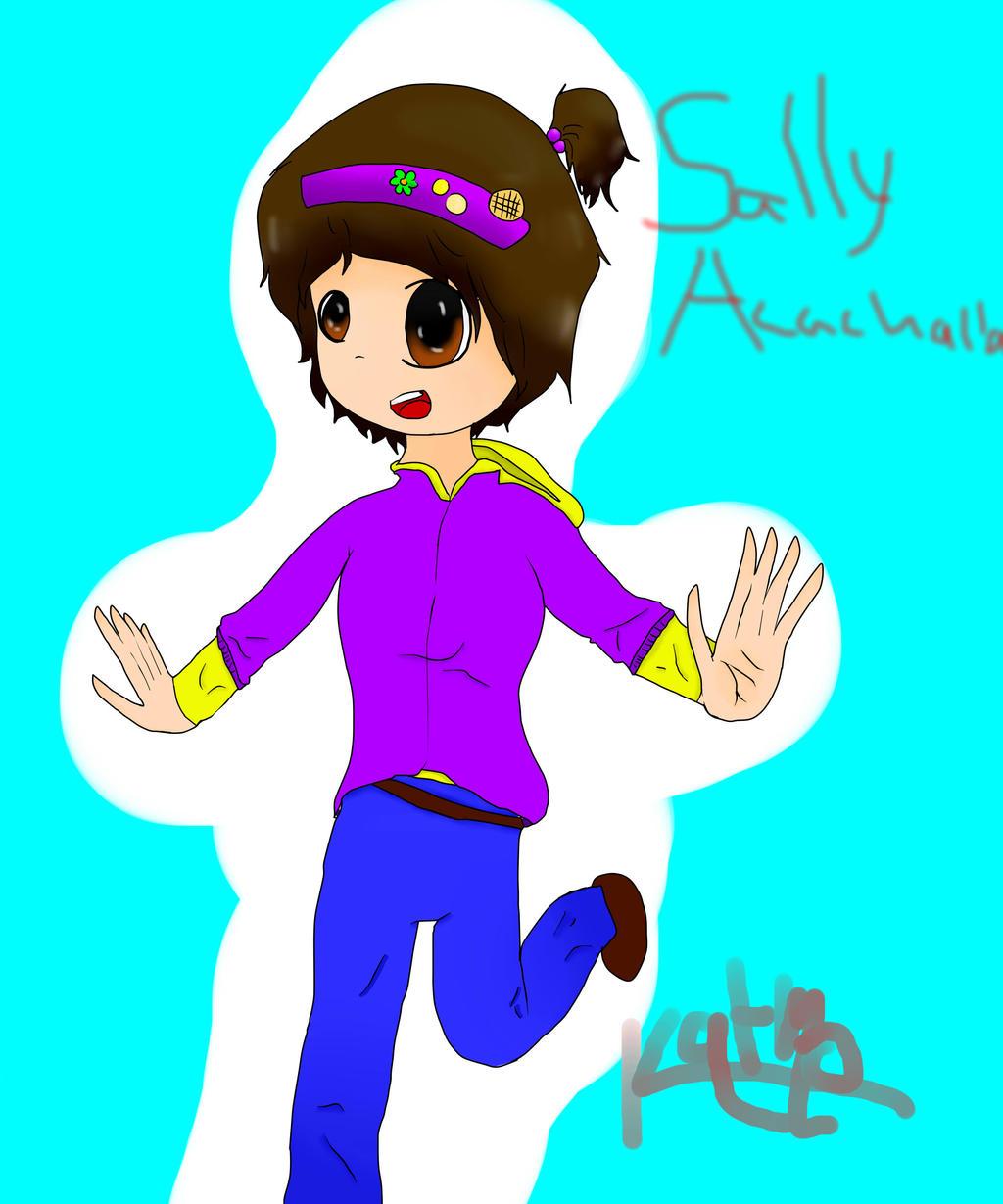 Sally Acachalla (VENTURIANTALE) by KatmoAdventuers