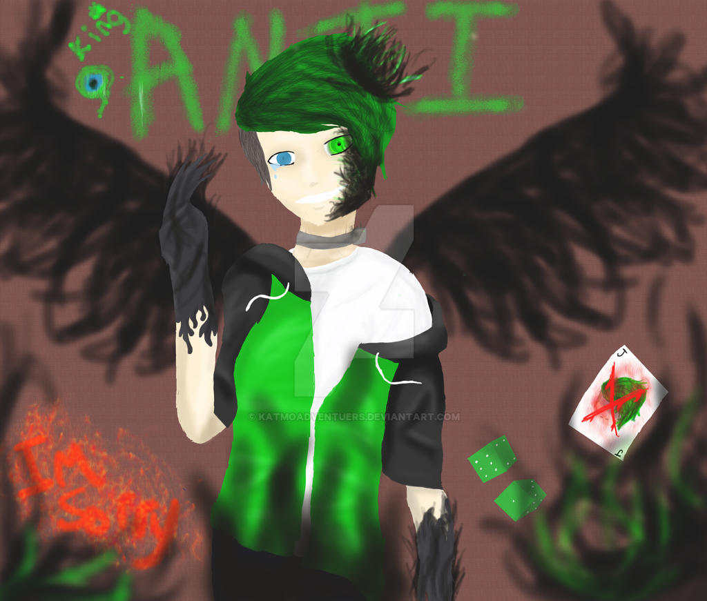 King Anti (Antisepticeye) by KatmoAdventuers