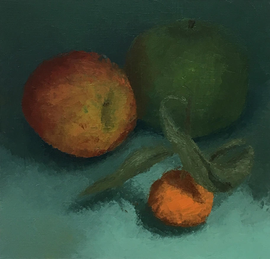 Turquoise Fruit by iamacrocodile
