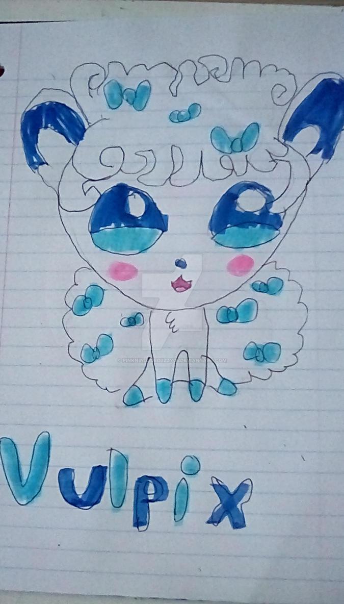 Alola Vulpix by PinkNinjaJediIzzy05