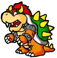 Paper-Bowser by randy-the-hedgehog