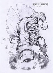 Hellboy by jianchong