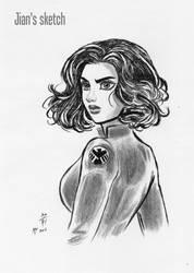 Black Widow by jianchong