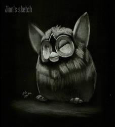Furby is Sleepy by jianchong