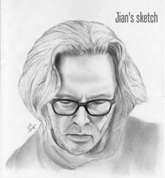 Eric Clapton by jianchong
