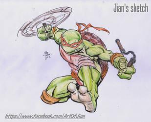 Ninjaturds by jianchong
