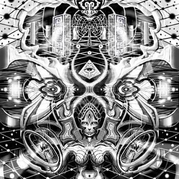 Inside the monolith by AstArte23