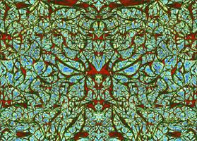 Psychedelic Pattern 03 by AstArte23