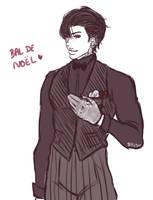 +MIAM+ Sketch tenue de bal