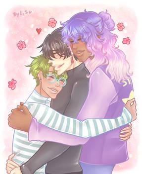 +MIAM+ Bro hug~