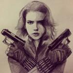 Scarlet Black Widow
