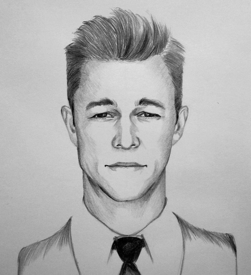 Joseph Gordon Levitt portrait by ninjason57