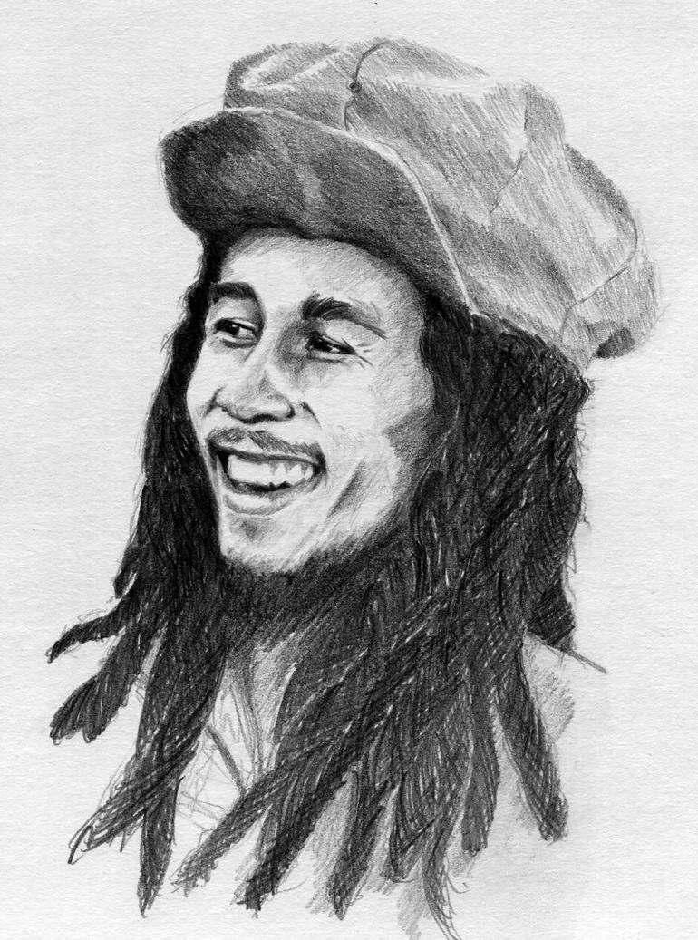 Bob Marley by ninjason57