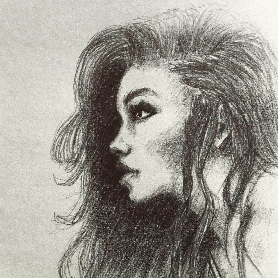 Profile of a girl by ninjason57