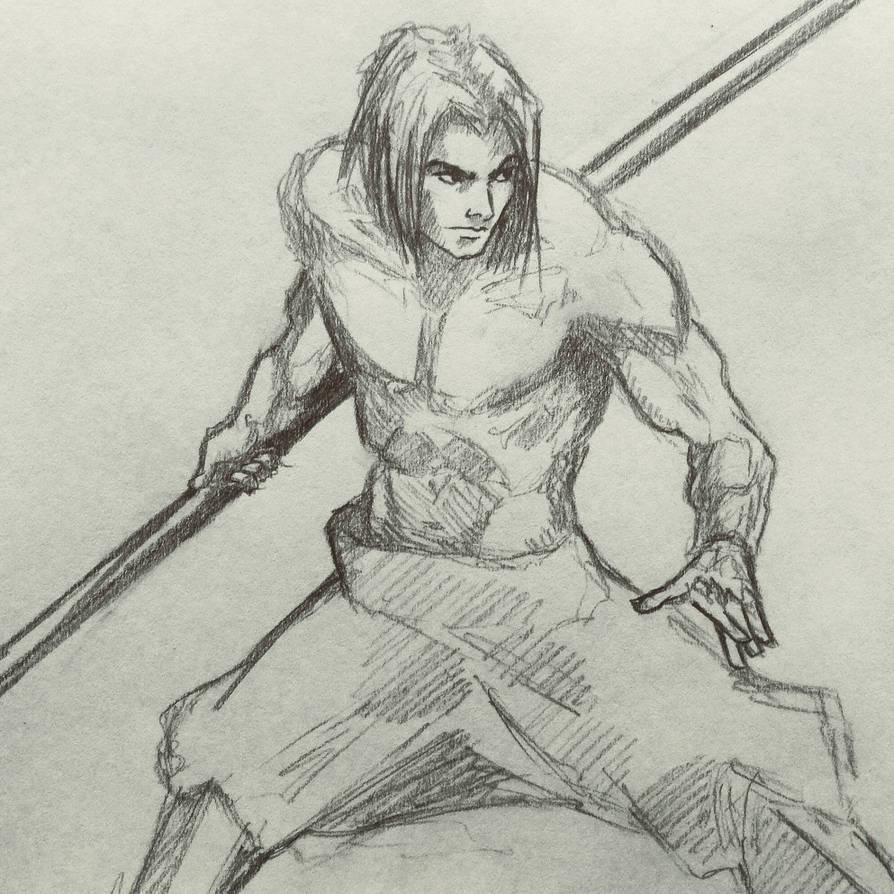 Bo Staff Man By Ninjason57 On Deviantart