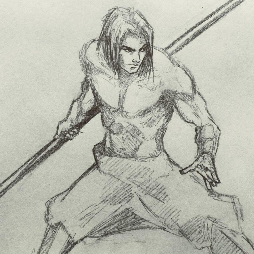 Bo Staff man by ninjason57