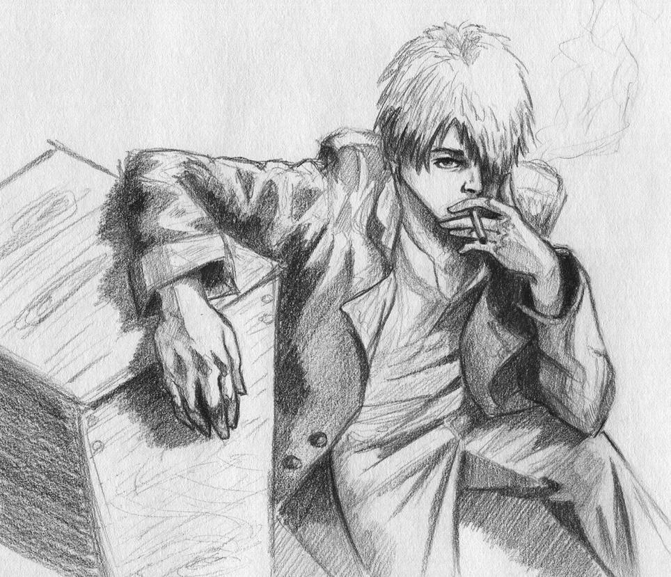 Ginko Mushishi by ninjason57