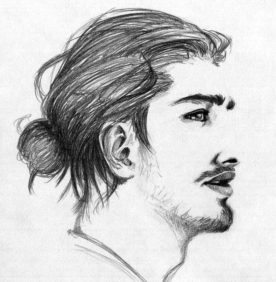 Man Bun by ninjason57