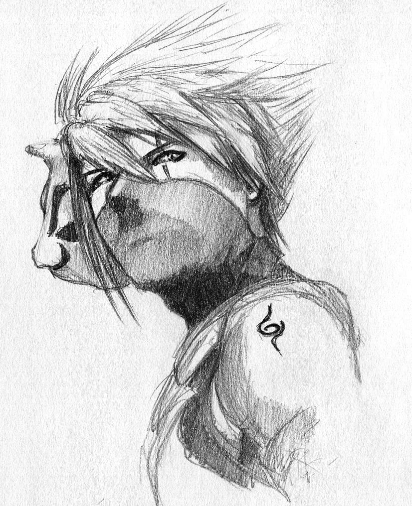 Kakashi ANBU sketch by ninjason57 on DeviantArt  Kakashi ANBU sk...