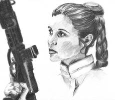 Princess Leia updated by ninjason57
