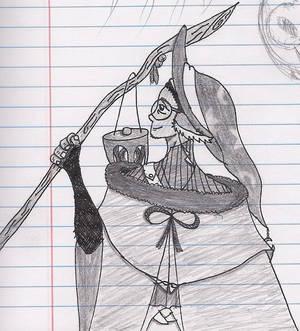 Inktober - Witchsona