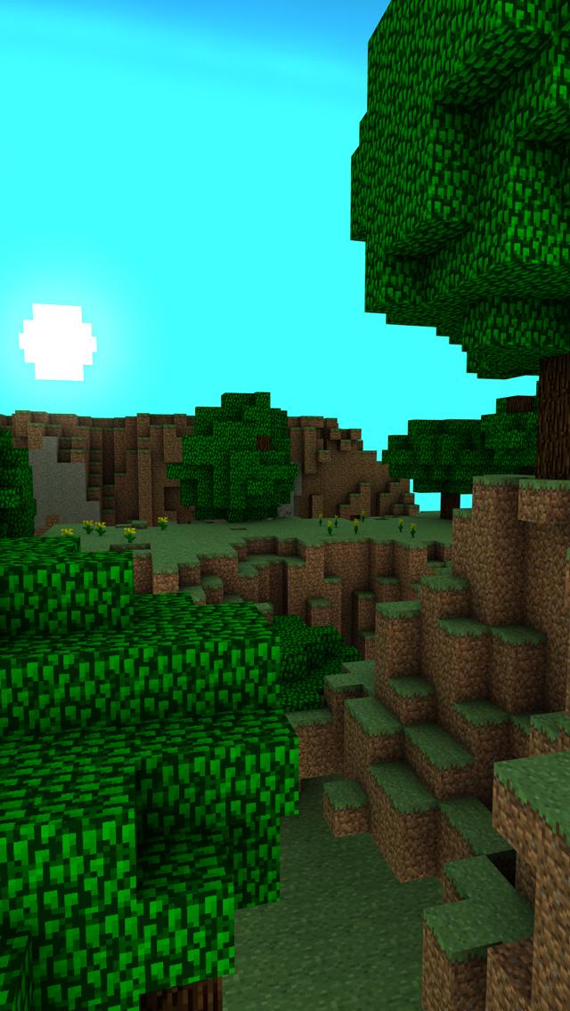 Minecraft iPhone Wallpaper by footthumb on DeviantArt