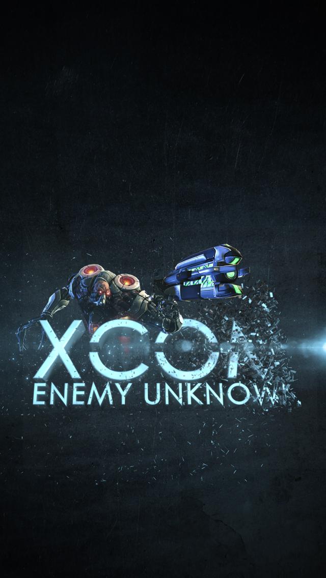 XCOM iPhone Wallpaper by footthumb