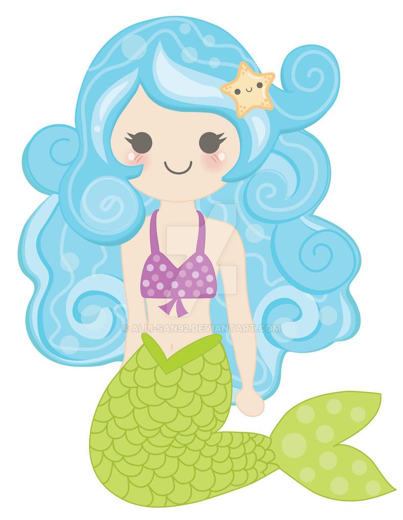 Kawaii Mermaid by Alli-san92