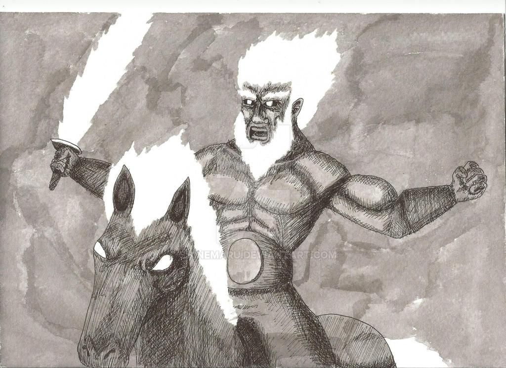 Surt Cabalga a la Batalla. Surt Rides to the Battl by Shinemaru
