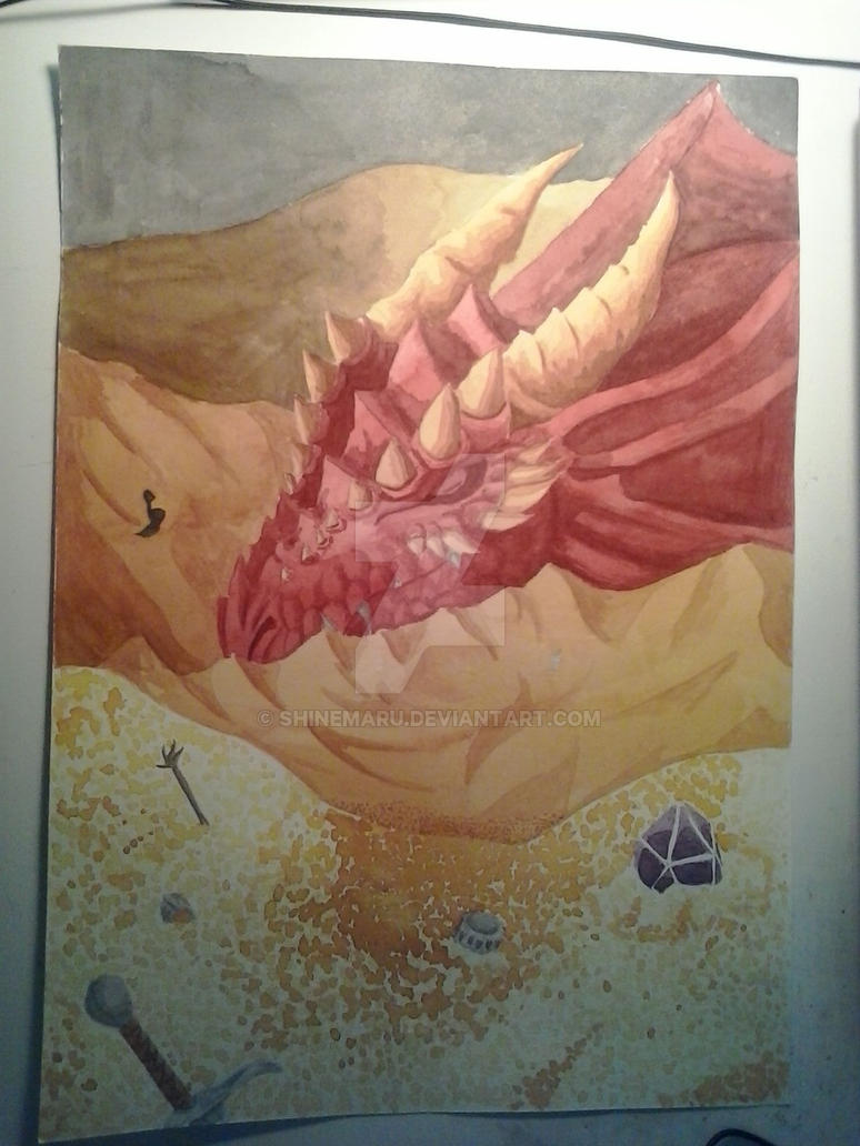 Dragon Durmiendo. Sleeping Dragon by Shinemaru