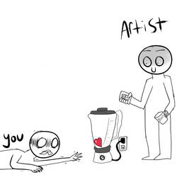 WHEN ARTISTS DRAW ANGST