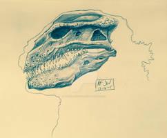 Gojira 2016-skull