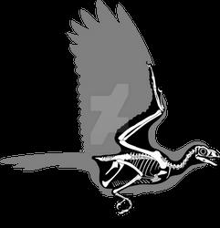 Sapeornis skeletal