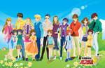 All Gundam Wing Family