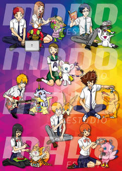 Digimon TRI Ai Kotoba CD Cover