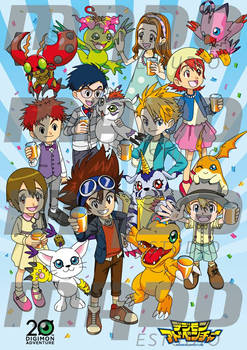 Digimon 20th Anniversary