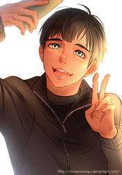 Fan art: Phichit by Fuyuure-27