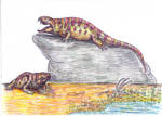 Sphenacodon ferox: lazy killer