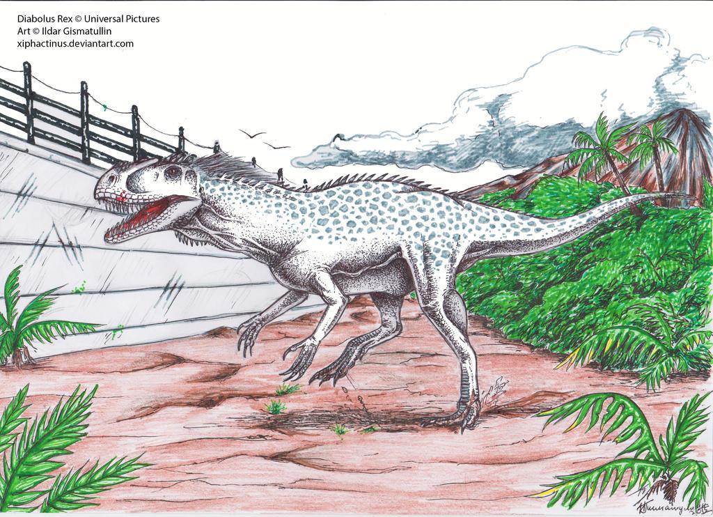I. rex , fuites et fan art (Page 33) / Jurassic World ...